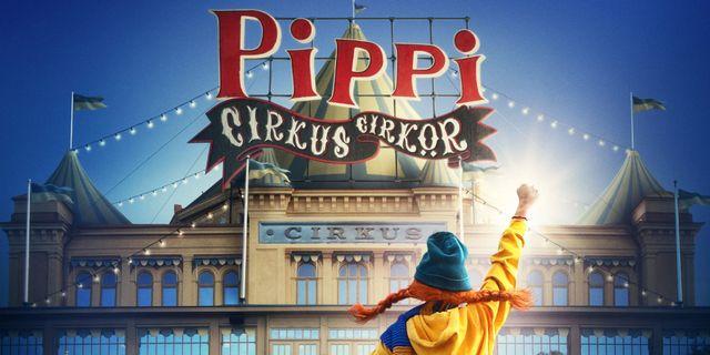 Pippi på Cirkus skjuts upp
