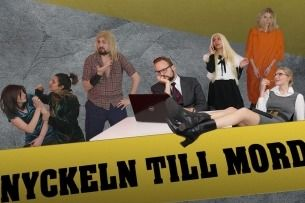 NYCKELN TILL MORD - En klurig och sp�nnande deckarg�ta