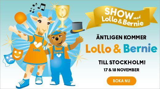 Show med Lollo & Bernie