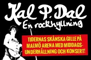 Kal P. Dal - En Rockhyllning - Meny & Show