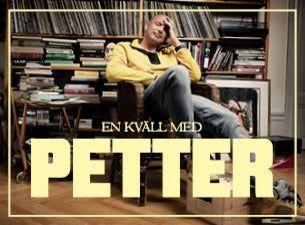 En kväll med Petter - EXTRAFÖRESTÄLLNING