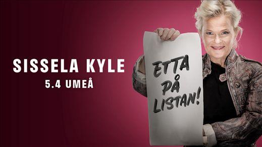 """Sissela Kyle - """"Etta på listan!"""""""