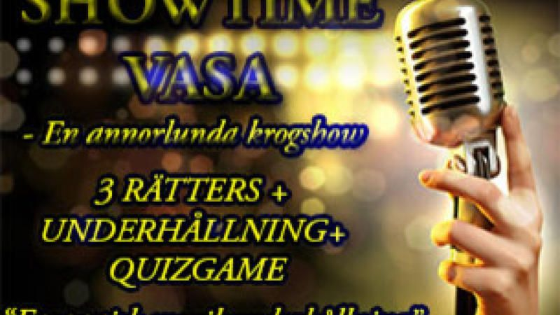 SHOWTIME VASA - En annorlunda krogshow