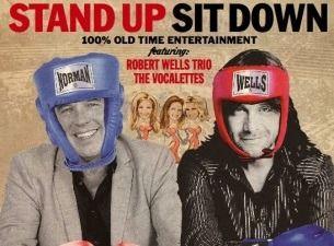 STAND UP - SIT DOWN – Robert Wells vs Lennie Norman