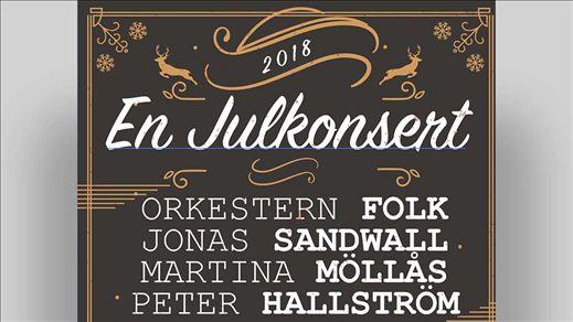 En Julkonsert FOLK & Jonas Sandwall