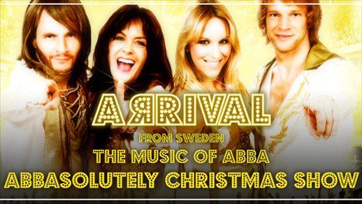 ARRIVAL Abbasolutely Christmas Show