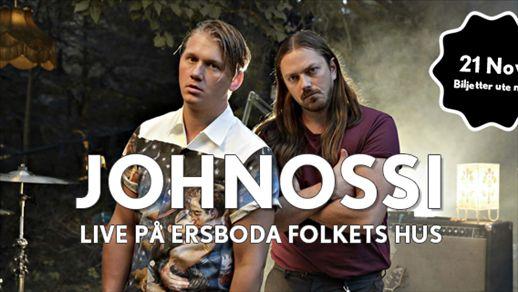 Johnossi Live på Ersboda Folkets Hus