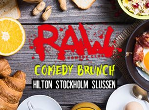 RAW comedy brunch med bl. a. Nisse Hallberg