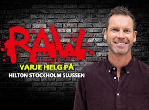 RAW comedy club med bl. a. Johan Glans