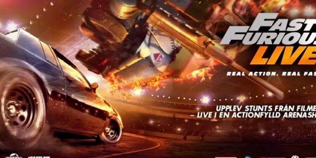 "Showen ""Fast & Furious Live"" till Sverige"