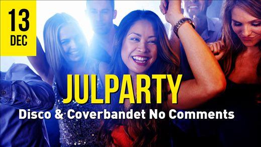 Julparty 13/12 No Comments & Disco