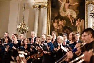 Luciatåg och konsert med Stockholms Musikgymnasium