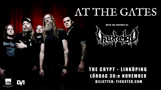 At The Gates / Vanhelgd - The Crypt, Linköping