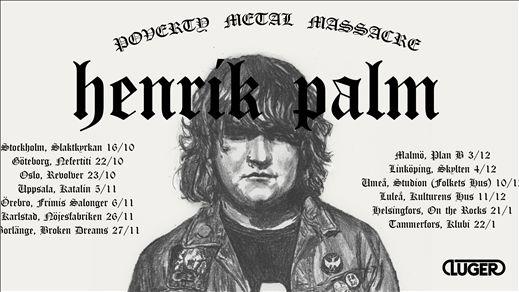 BD Live - Henrik Palm + Ett Dödens Maskineri