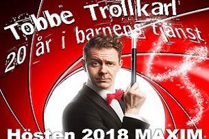 Tobbe Trollkarl jubileumsshow - 20 år i barnens tjänst !