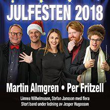 JULFESTEN 2018 - Martin Almgren och Per Fritzell med vänner