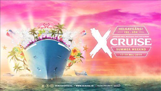 X-CRUISE - SUMMER WEEKND - 17-19 MAJ