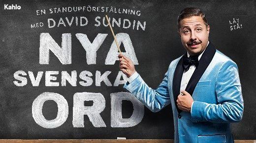 Nya Svenska Ord-Humorshow med David Sundin