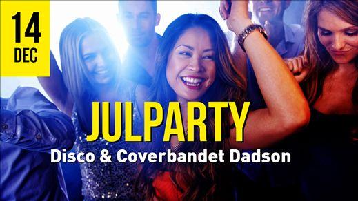 Julparty 14/12 Dadson & Disco