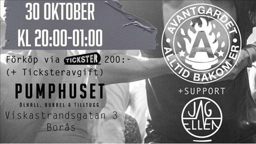 Avantgardet + Support: Jag & Ellen 30/10-21