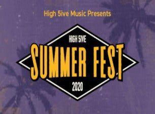 High 5ive Summer Fest - Endagsbiljett Fredag 2 juli