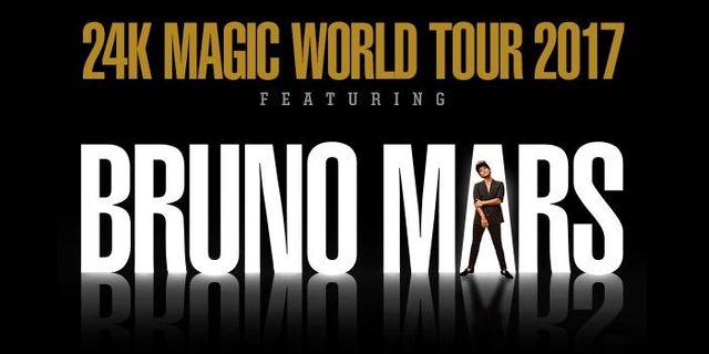 Bruno Mars till Sverige