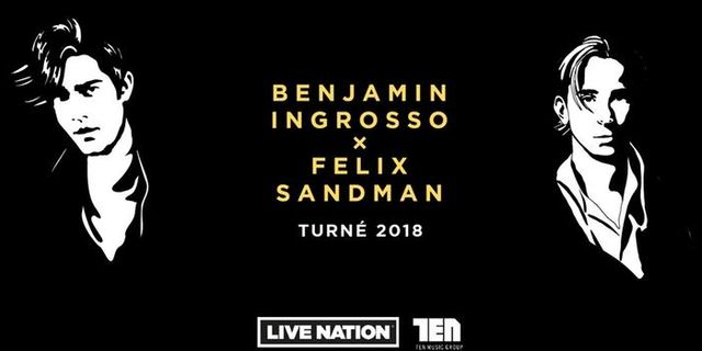 Ingrosso och Sandman på turné ihop