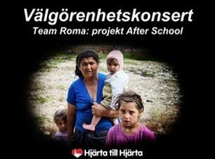 Välgörenhetskonsert Team Roma: projekt After School
