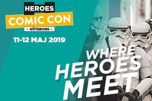 Comic Con Göteborg 2019 | Lördagsbiljett