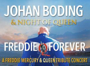 JOHAN BODING & NIGHT OF QUEEN - FREDDIE FOREVER
