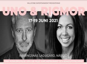 Uno Svenningsson & Rigmor Gustafsson i Ribbingsnäs Ladugård