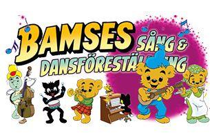 BAMSE PÅ TURNÈ Sång & Dansföreställningen