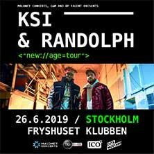KSI & Randolph New Age Tour