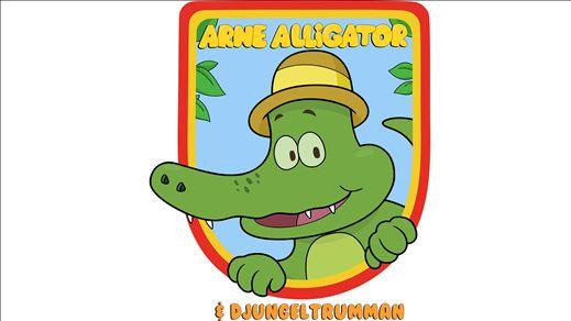 Arne Alligator och Djungeltrumman