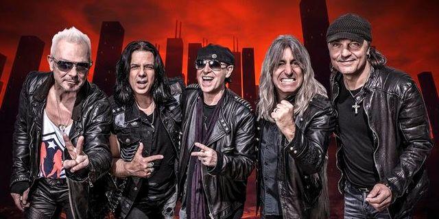 Scorpions till Sverige i höst
