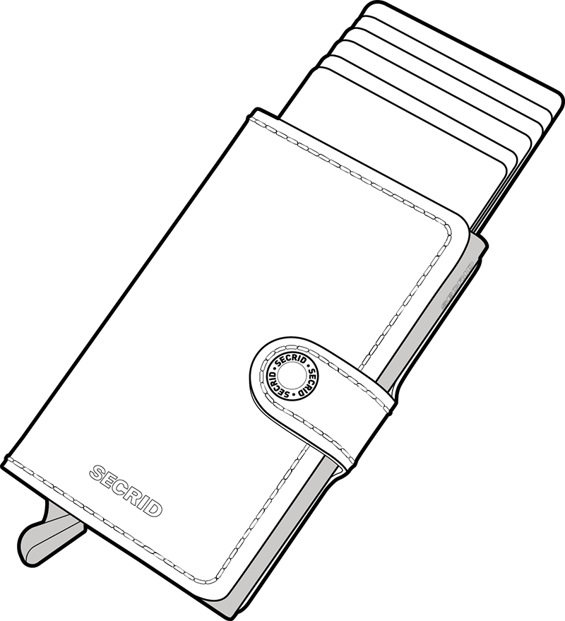 Slide the cards out in one simple movement.