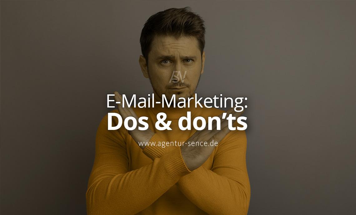 Kritische E-Mail-Marketing Dos und Donts für Anwaltskanzleien