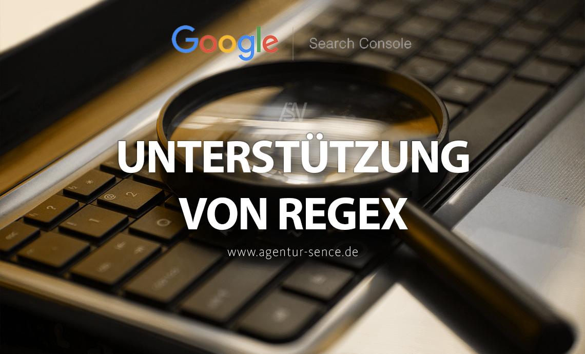 Google Search Console fügt neue Regex-Filteroptionen hinzu