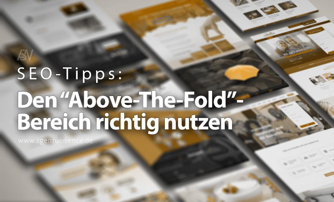 Einzigartiger Inhalt im Above-The-Fold-Bereich