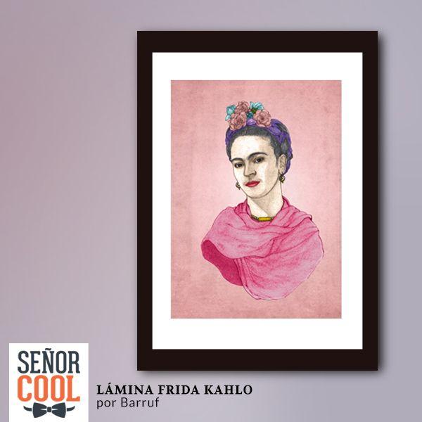 Lámina Frida Kahlo por Barruf