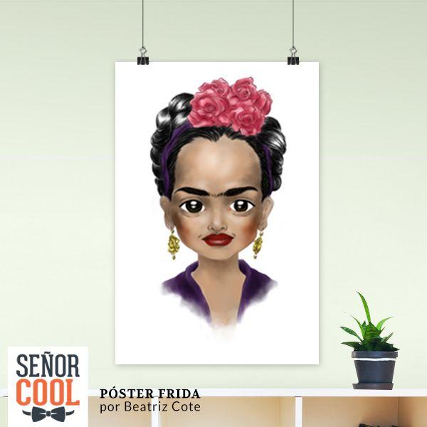 Póster Frida por Beatriz Cote