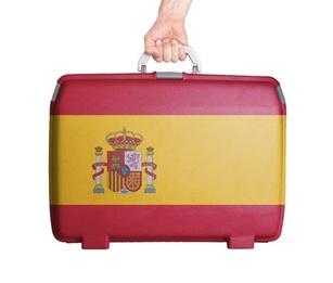 Suitcase spain
