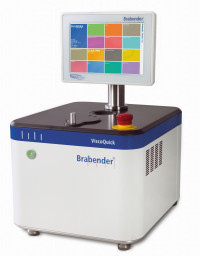 Precision viscometer analyzes consistency of pudding
