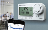 Better indoor air through  CO2 data monitoring