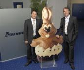 Managing Diretor Markus Gebhart (left) and Managing Partner Rudolf Schwaiger. (Image: Hans Brunner)