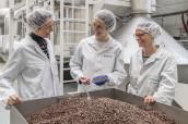 Anwendungszentrum für Schokolade und Kaffee im Cubic.