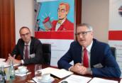 Andreas Helbig (l.), Sprecher des Vorstands des FFI, und Christian Schiffers, Geschäftsführer des FFI.