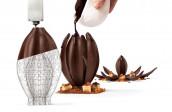 Jordi Roca's Flor de Cacao 3D creation.