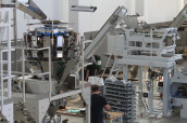 Dosing and vertical packaging systems from Pack Sud. (Image: Sacmi/Pack Sud)