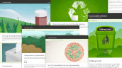 """Sustainability Unfolded"" heißt die neue Redaktionsplattform von Metsä Board. (Bild: Metsä Board)"